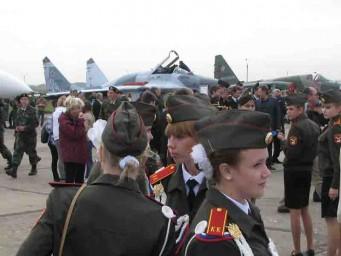 В армии служить почетно - ДОСААФ Липецк