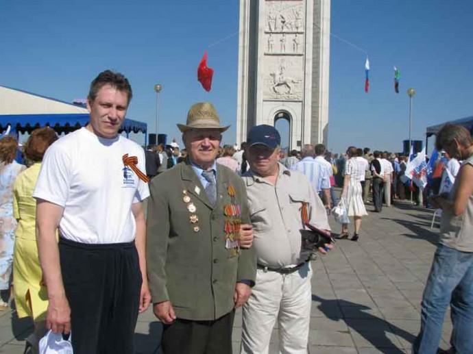 С ветеранами Курской битвы