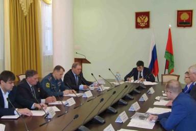 Заседание Наблюдательного совета РО ДОСААФ России в Липецке