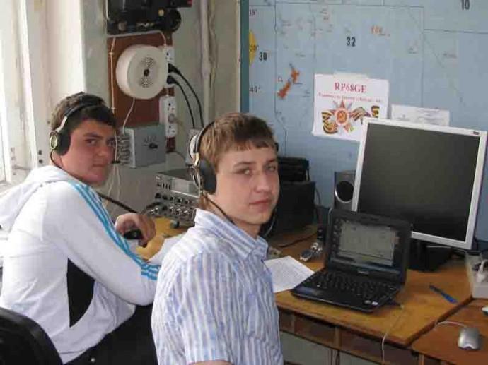 Юношеская команда радиоспорта - ДОСААФ Липецк