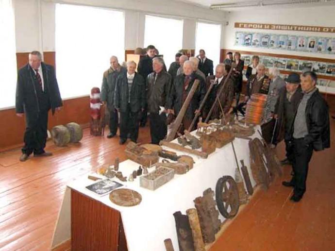 Экспозиция музея - ДОСААФ Тербуны