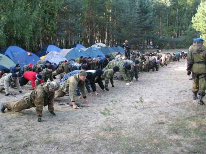 Слёт военно-патриотических клубов - ДОСААФ Липецк